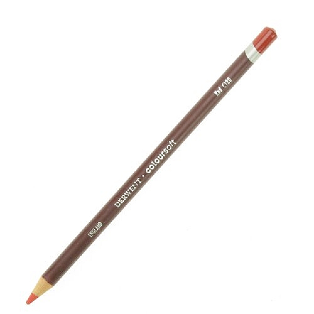 Derwent Coloursoft Pencil Red