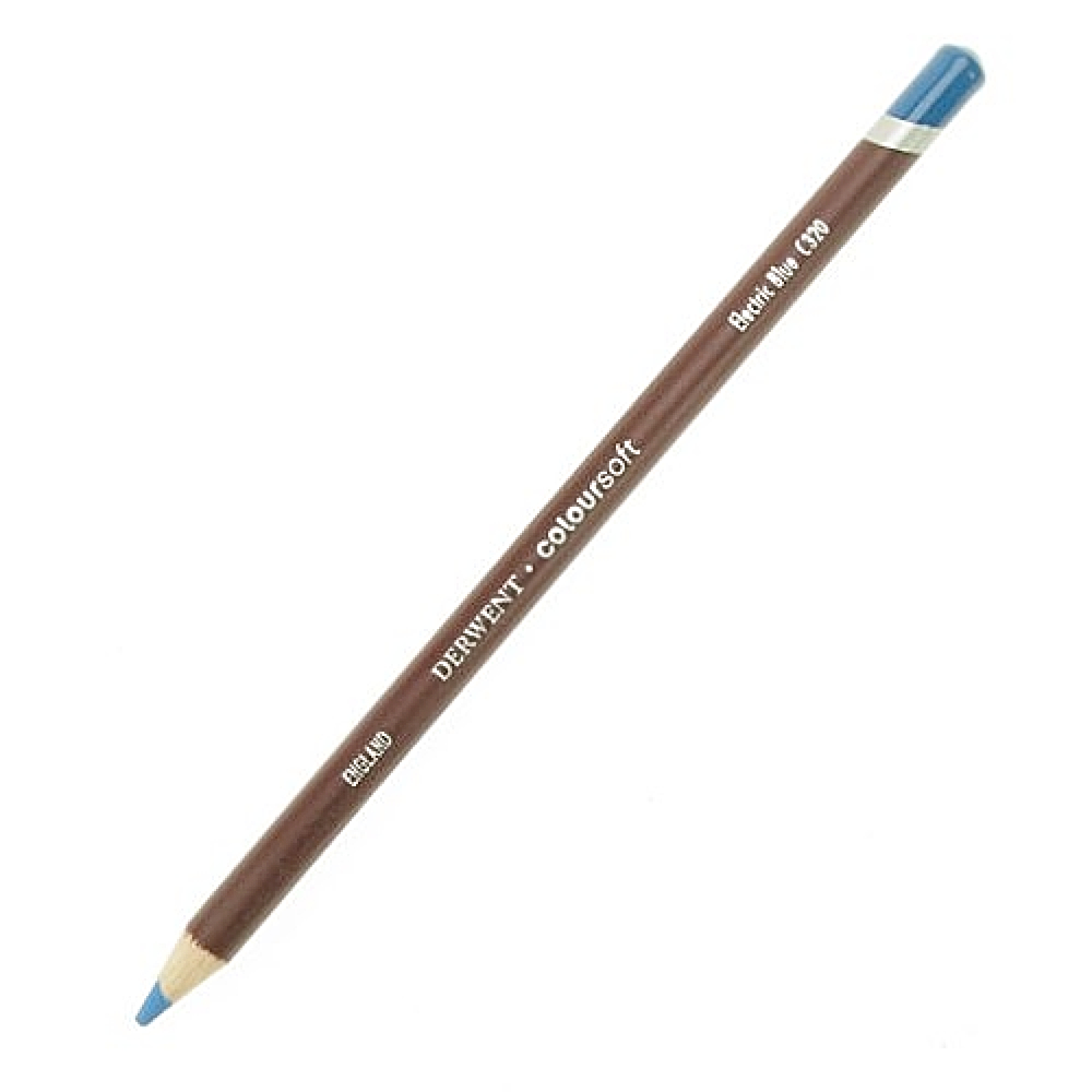 Derwent Coloursoft Pencil Elec. Blue