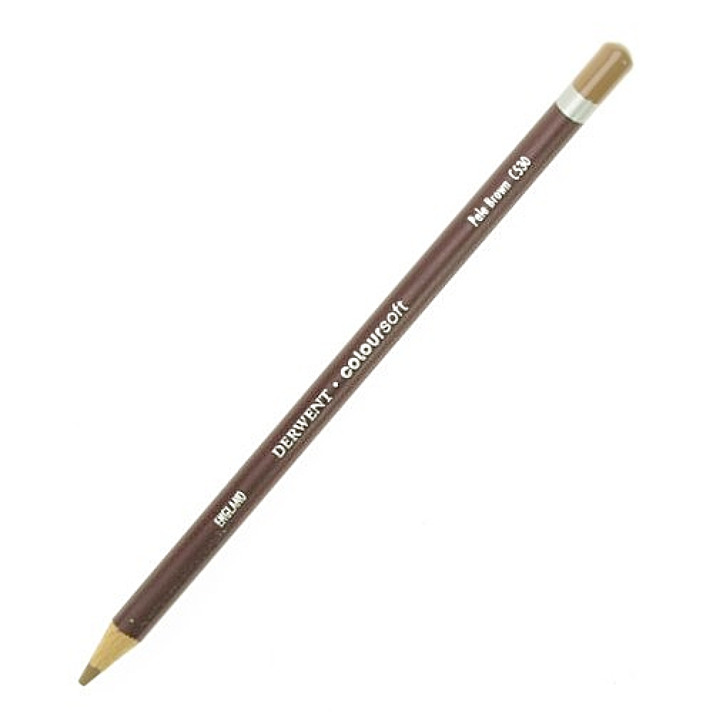 Derwent Coloursoft Pencil Pale Brown