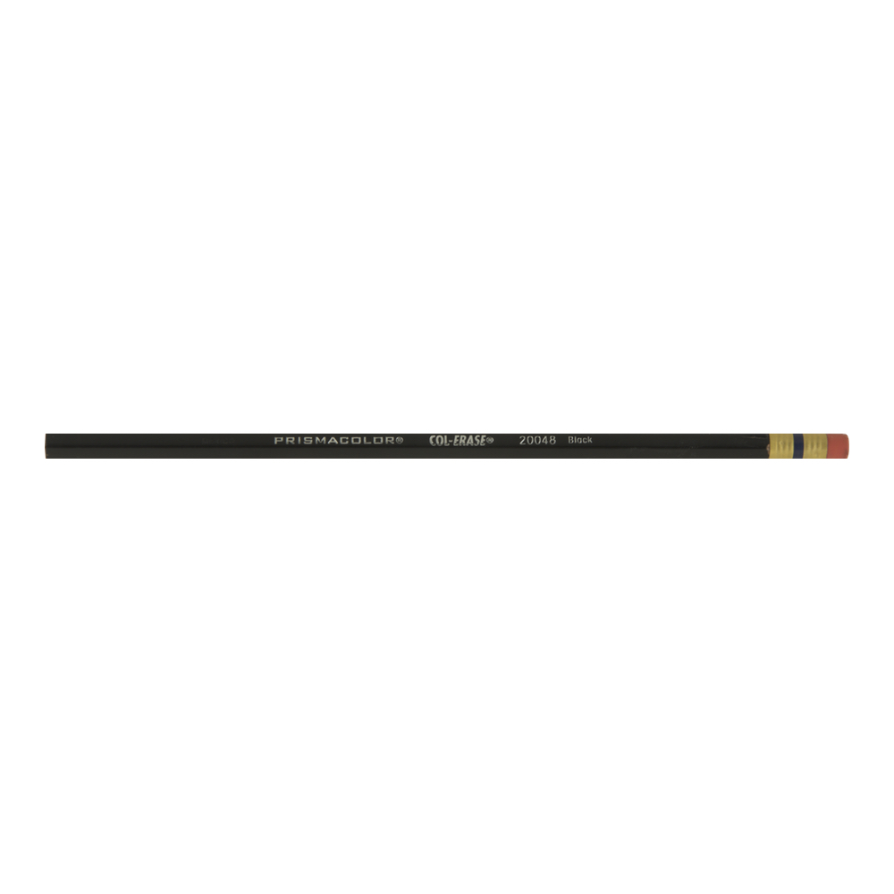 Col-Erase Eraseable Pencil 1280 Black