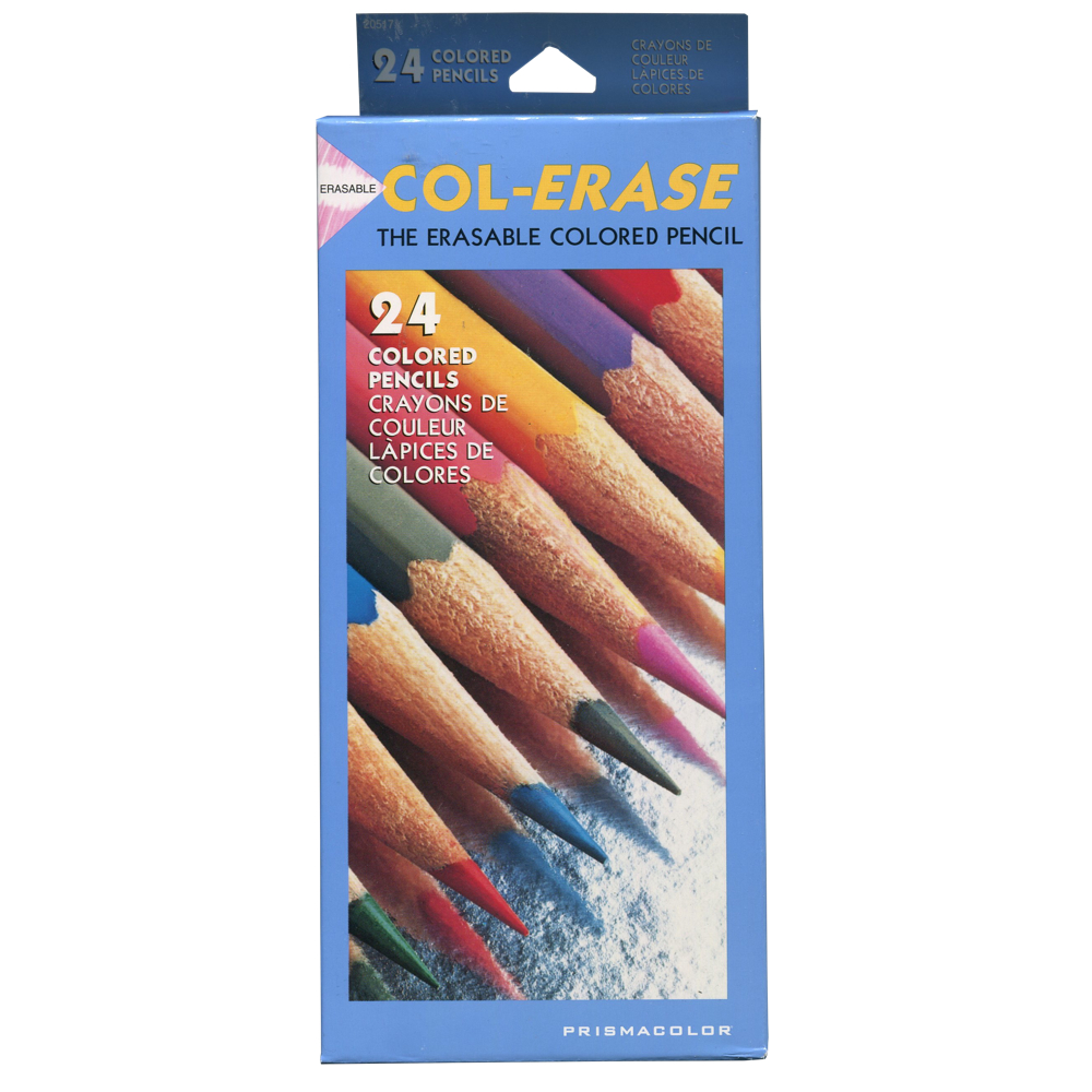 Col-Erase Erasable Pencil 1200 24 Color Set