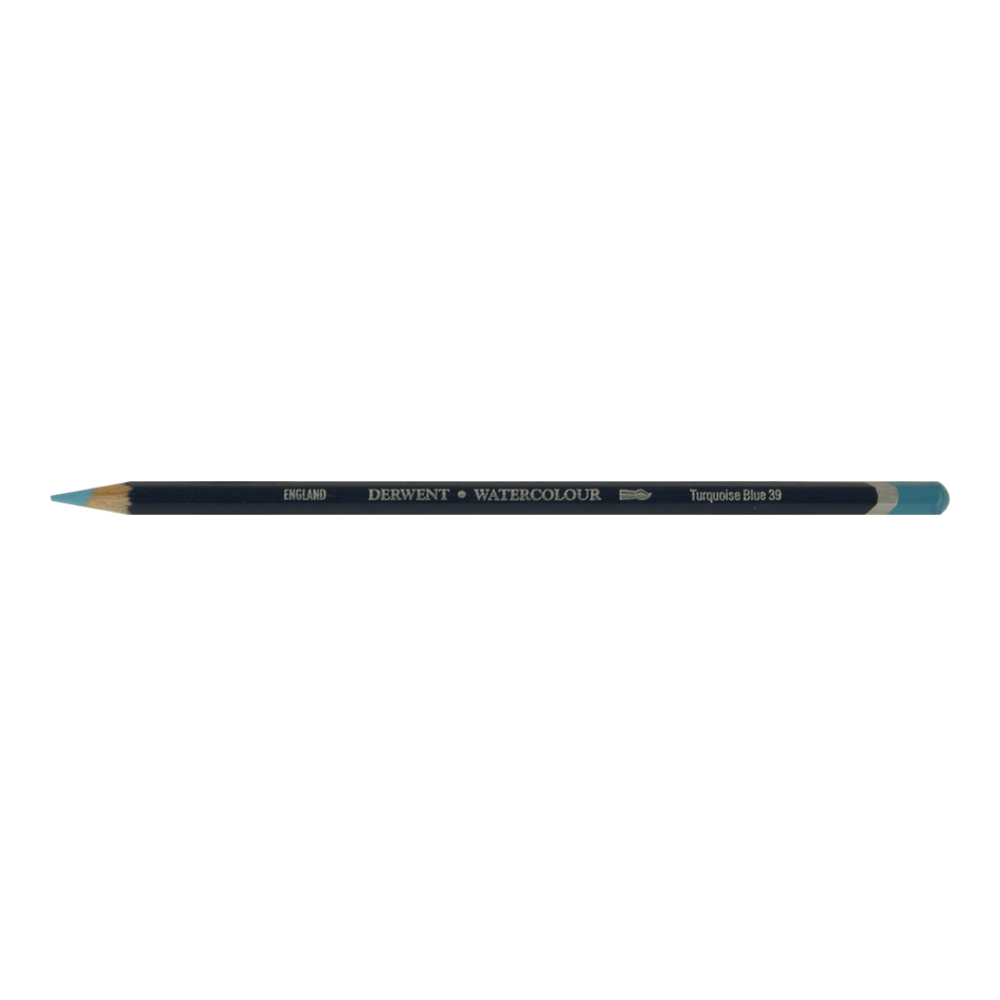 Derwent Watercolor Pencil 39 Turquoise Blue