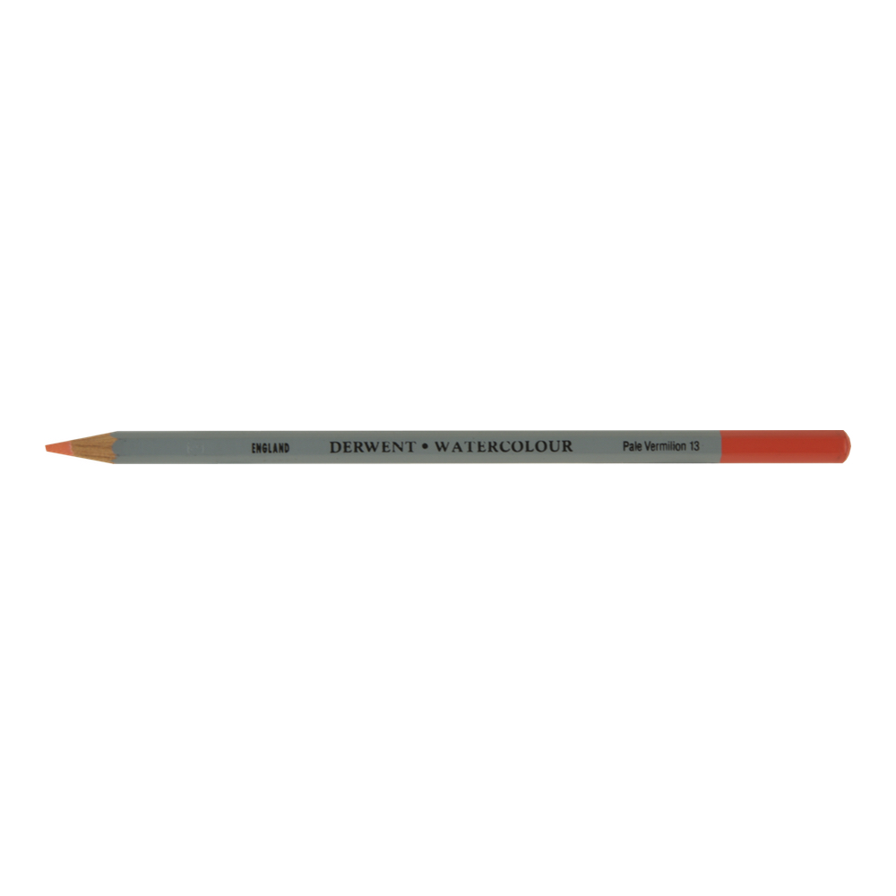 Derwent Watercolor Pencil 13 Pale Vermillion