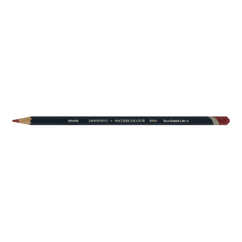 Derwent Watercolor Pencil 21 Rose Madder Lk