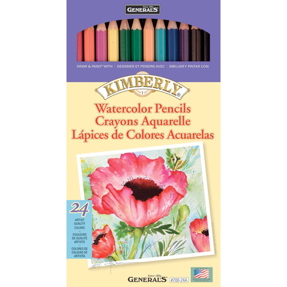 Kimberly 24 Watercolor Pencil Set