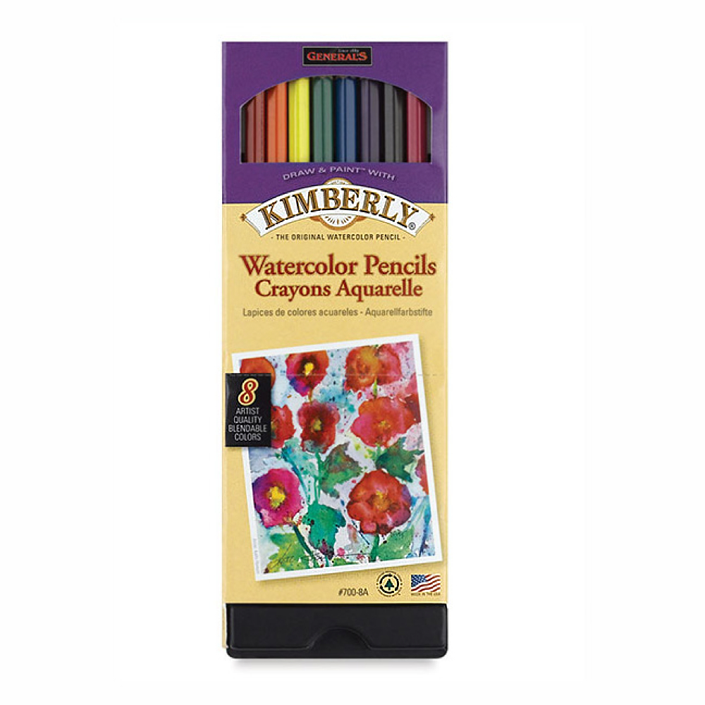 Kimberly 8 Watercolor Pencil Set