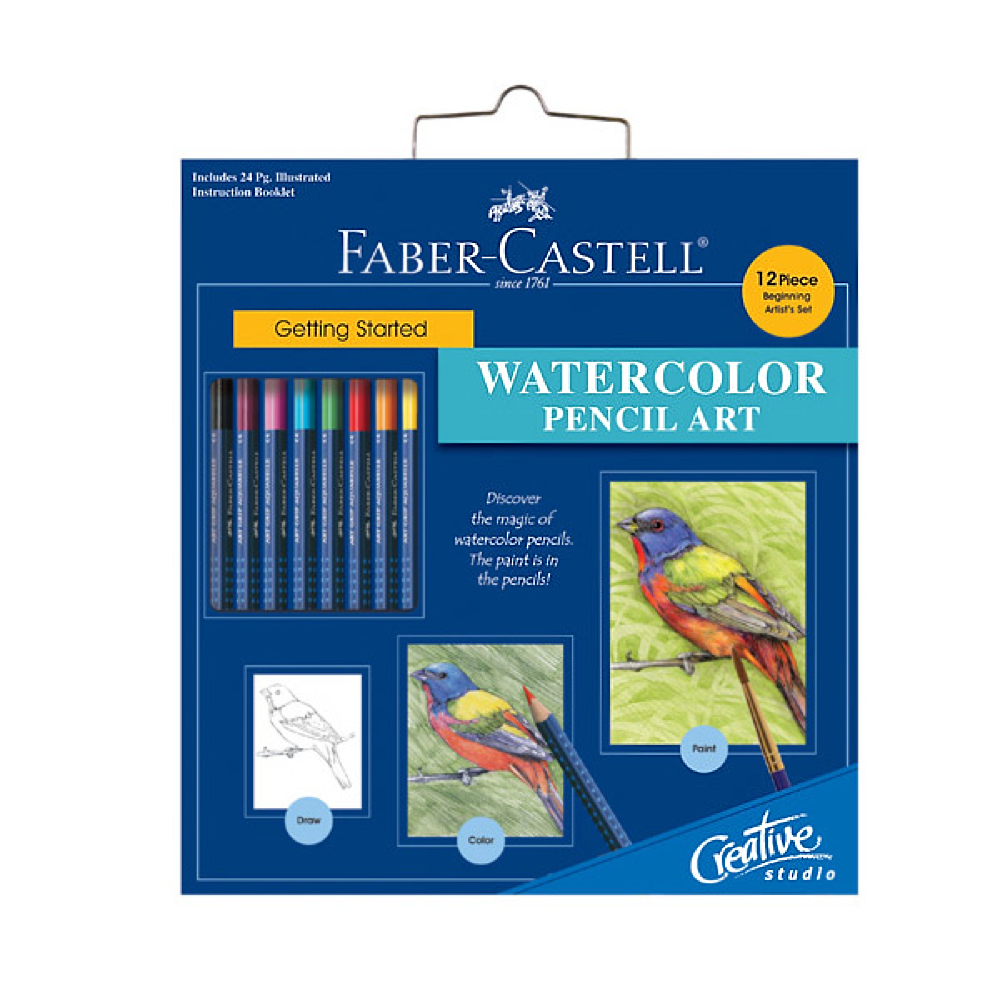 Creative Studio: Watercolor Pencil Art Set