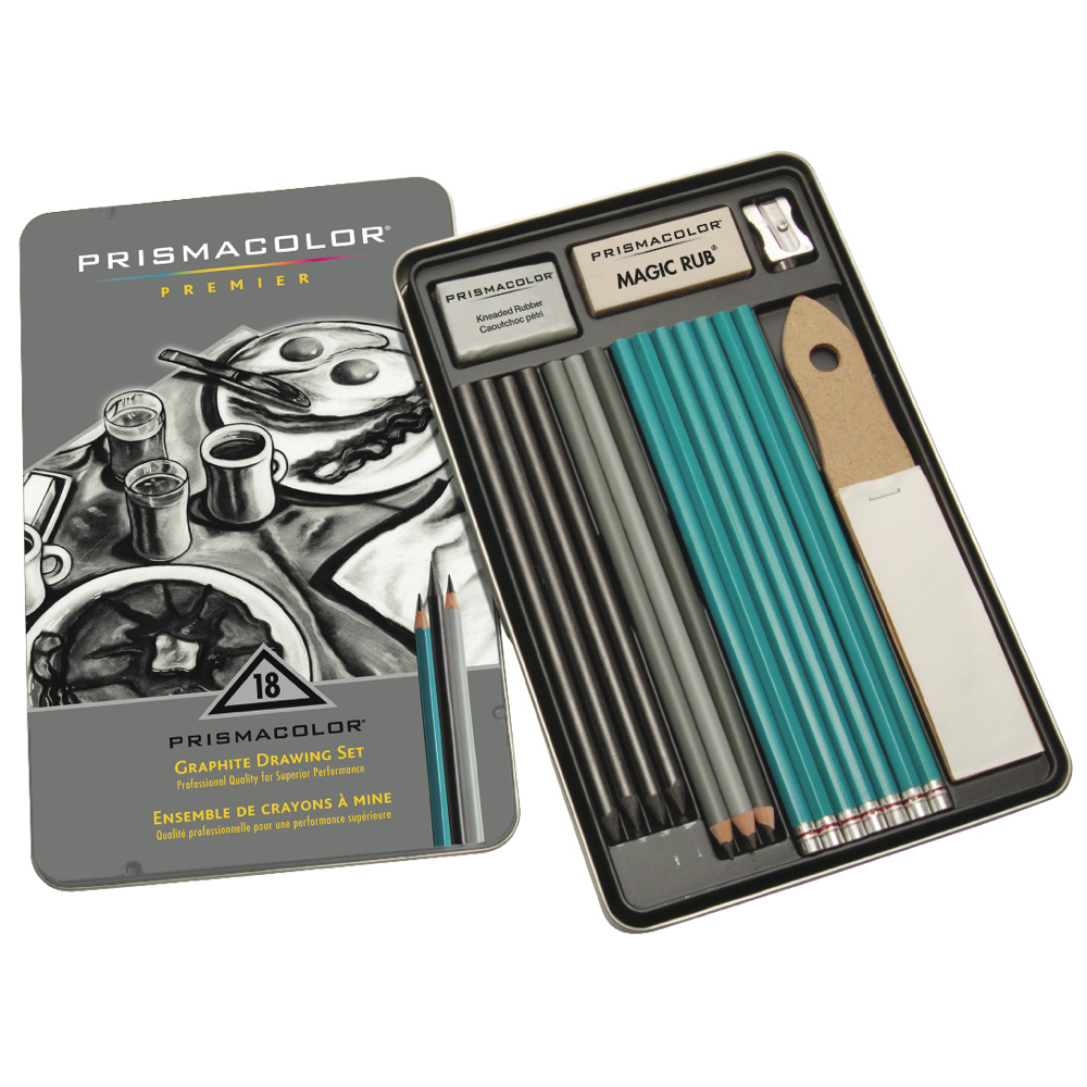 Prismacolor Preimum 18 Pc Graphite Drwng Set
