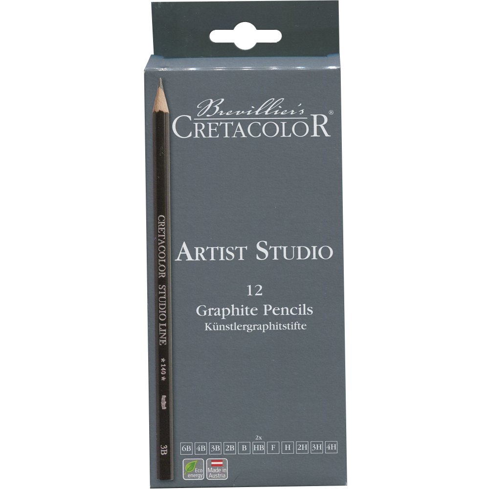 Cretacolor Artist Studio Set 12 Graphite Penc