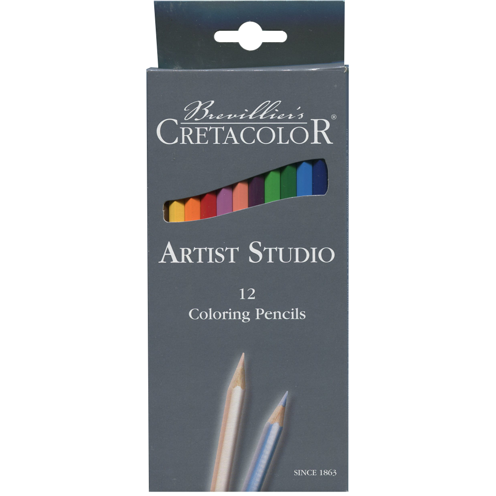 Cretacolor Artist Studio Set 12 Color Pencil