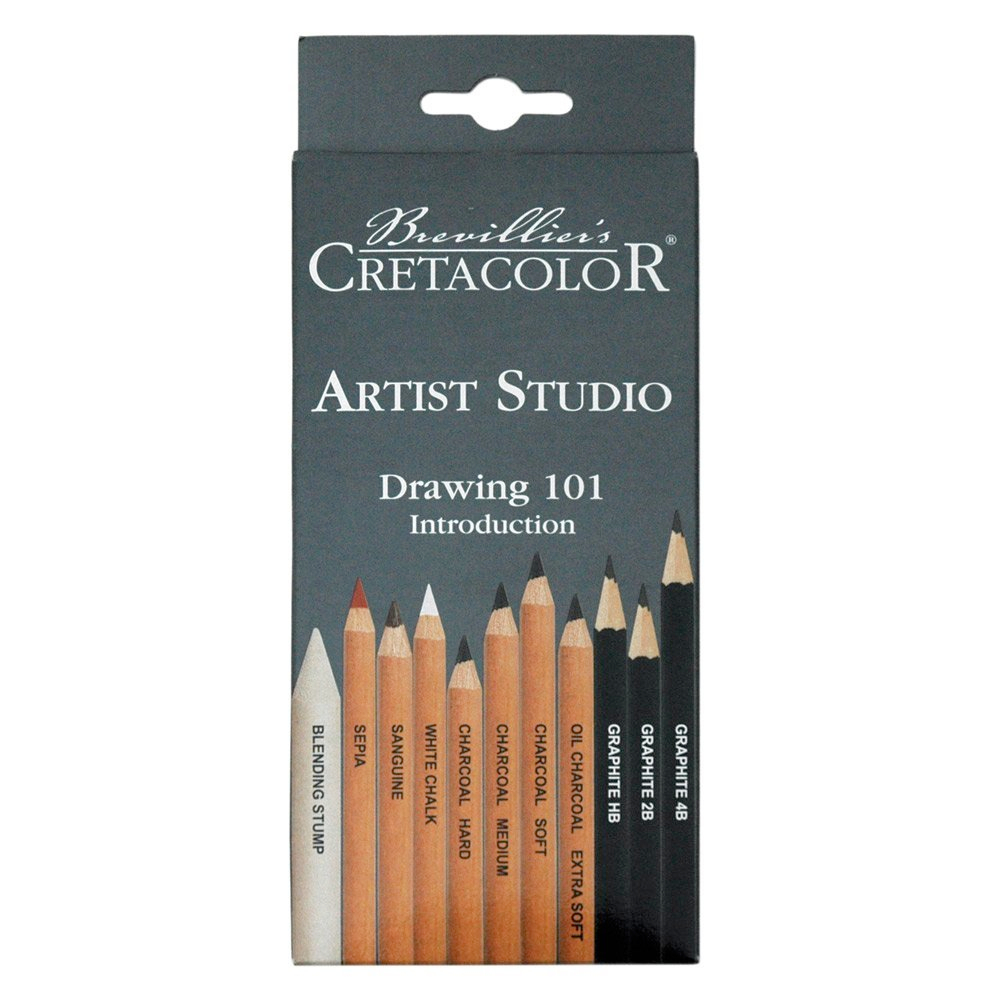 Cretacolor Artist Studio Drawing 101 Set