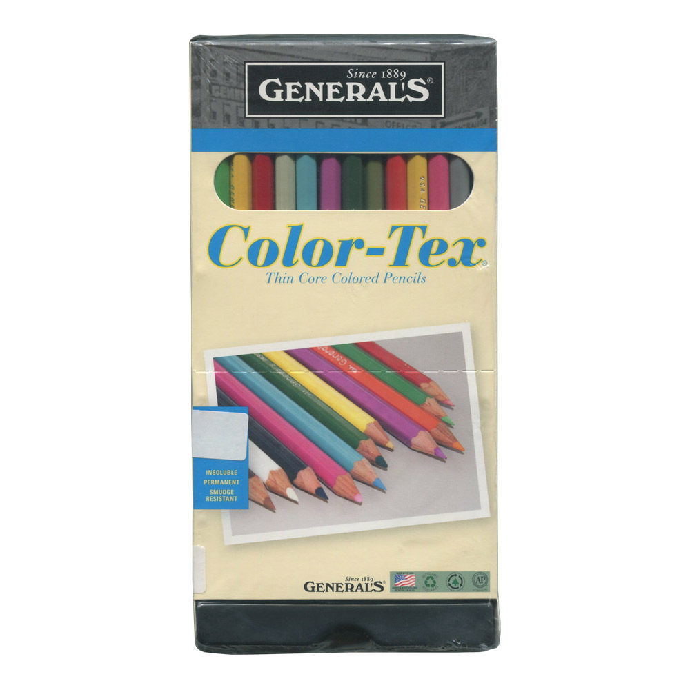 General Color Tex Pencils Set Of 24