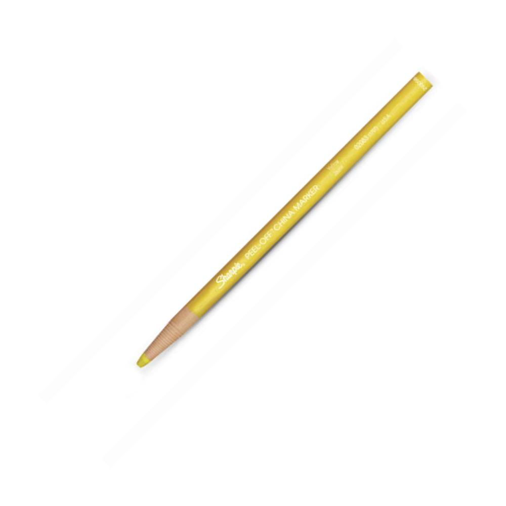 Peel-Off China Marker 170T Yellow