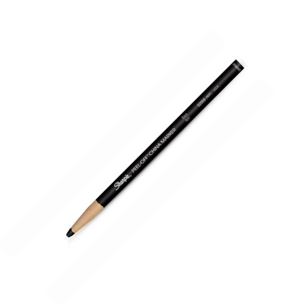 Peel-Off China Marker 173T Black