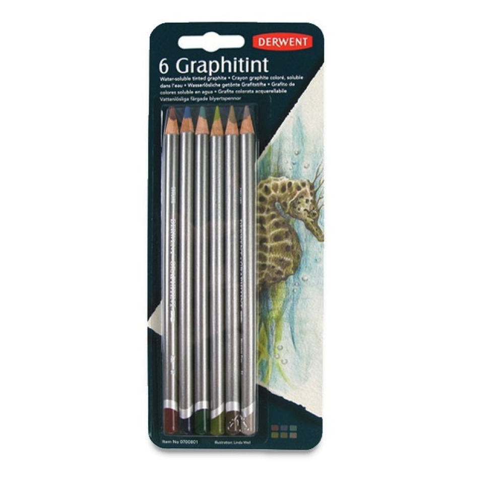 Derwent Graphitints Pencil Set/6
