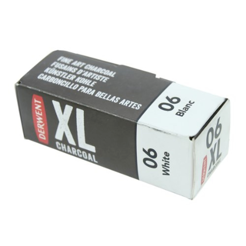 Derwent Xl Charcoal Block White