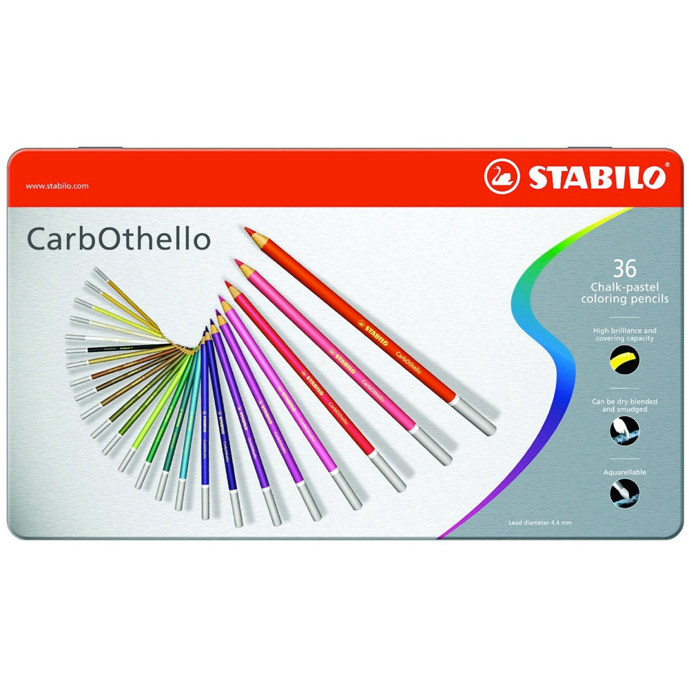 Carb-Othello Pastel Pencils