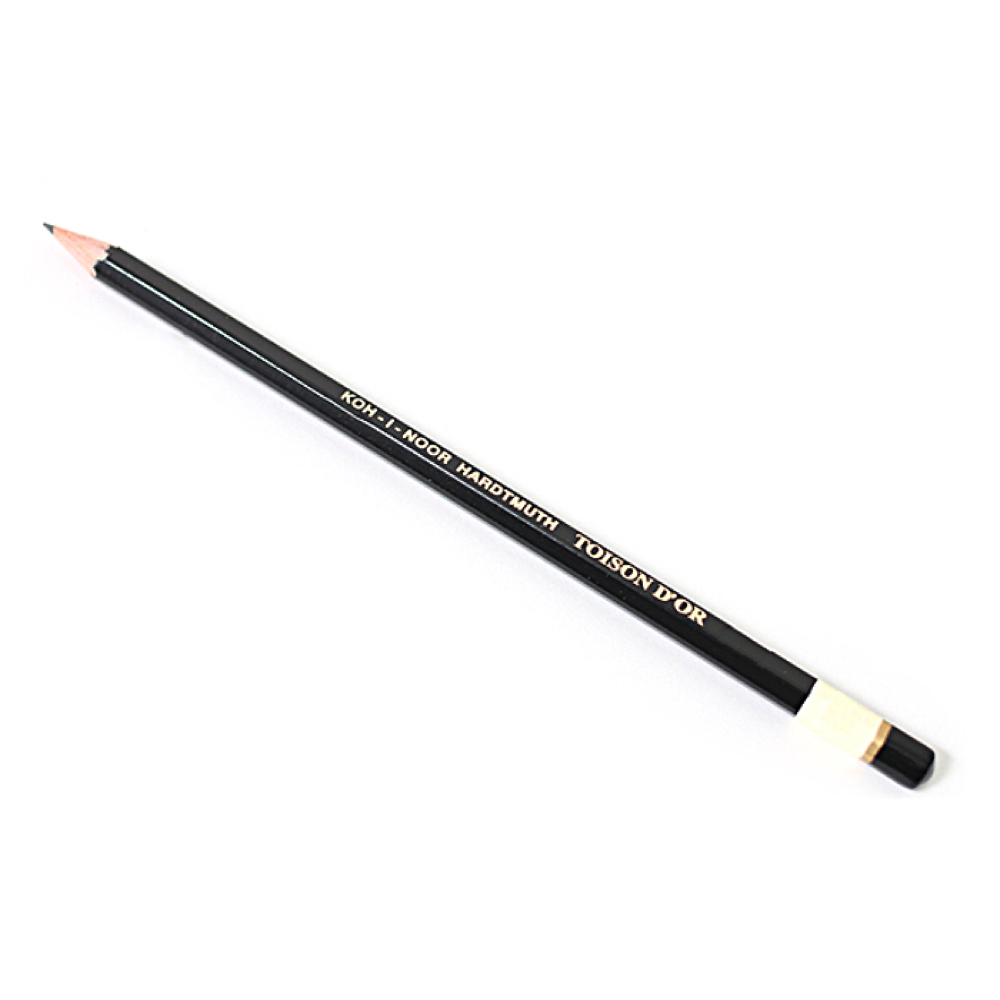 Koh-I-Noor Toison D'or Graphite Pencil 4H
