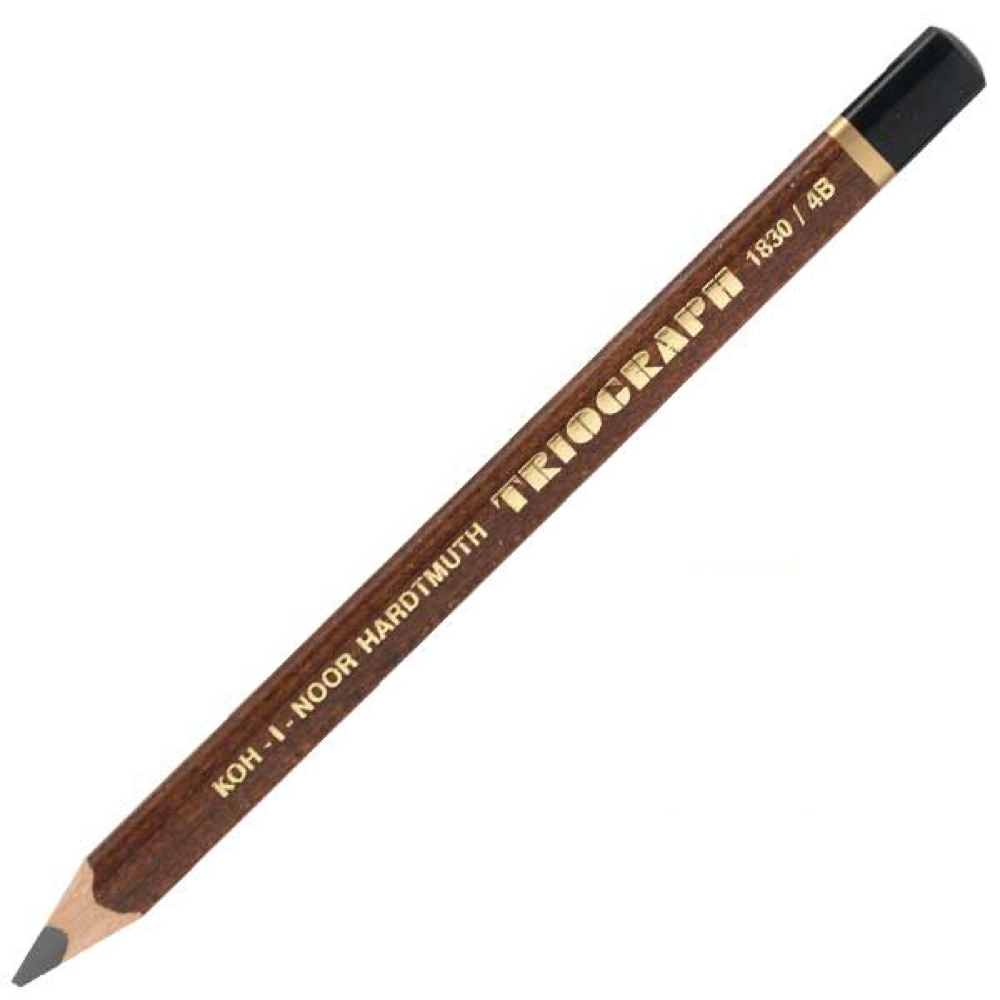 Triograph 10.5Mm Graphite Pencil 4B