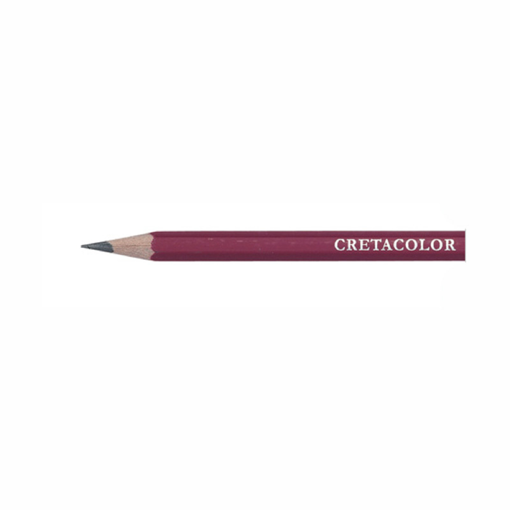 Cretacolor Red Graphite Pencil 6B