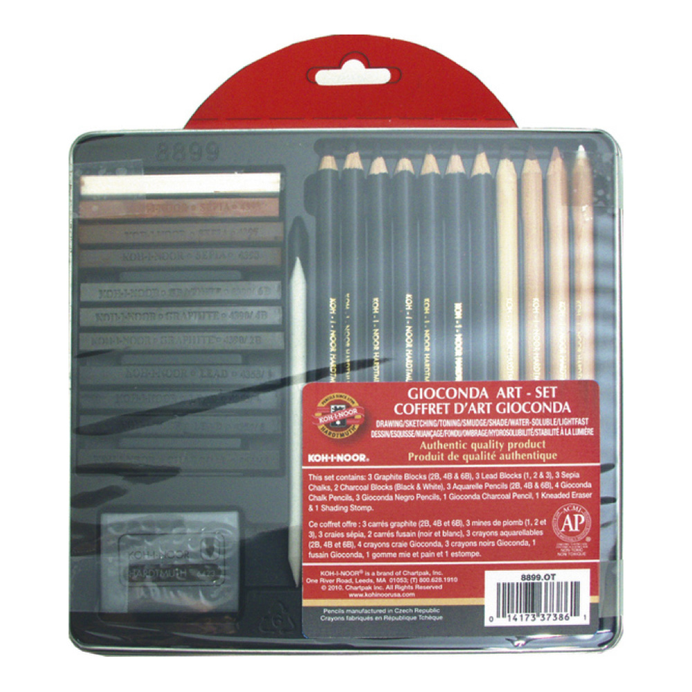 Koh-I-Noor Gioconda 26 Piece Art Set