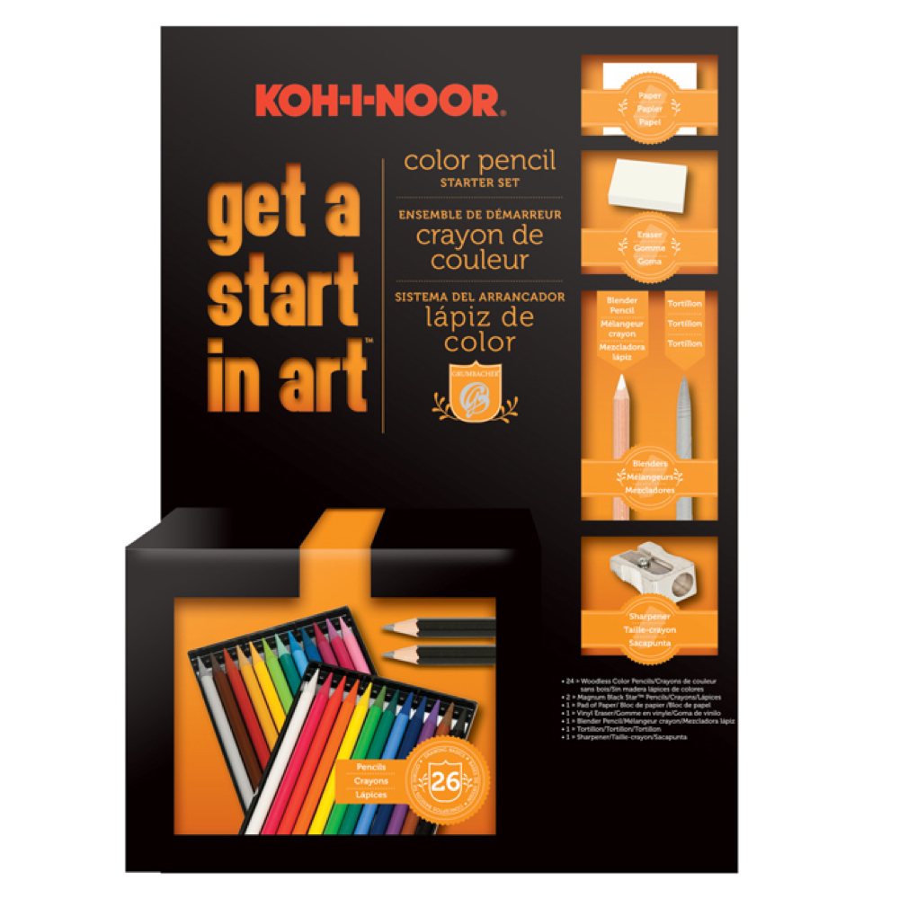 Get A Start In Art: Color Pencil Set