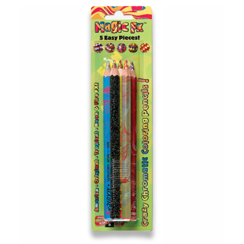 Koh-I-Noor Magic Fx Pencils Pack Of 5