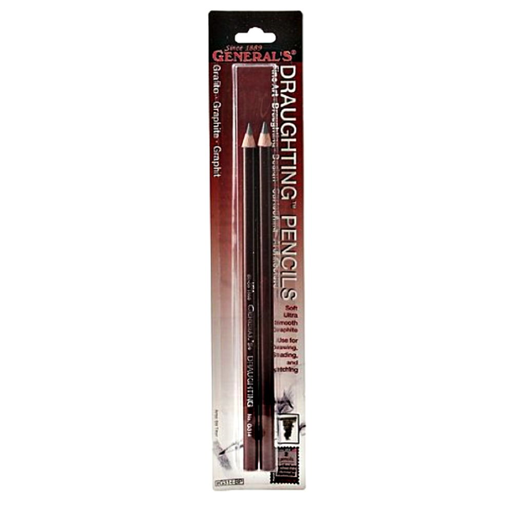 Generals G314 Draughting Pencil 2/Pk