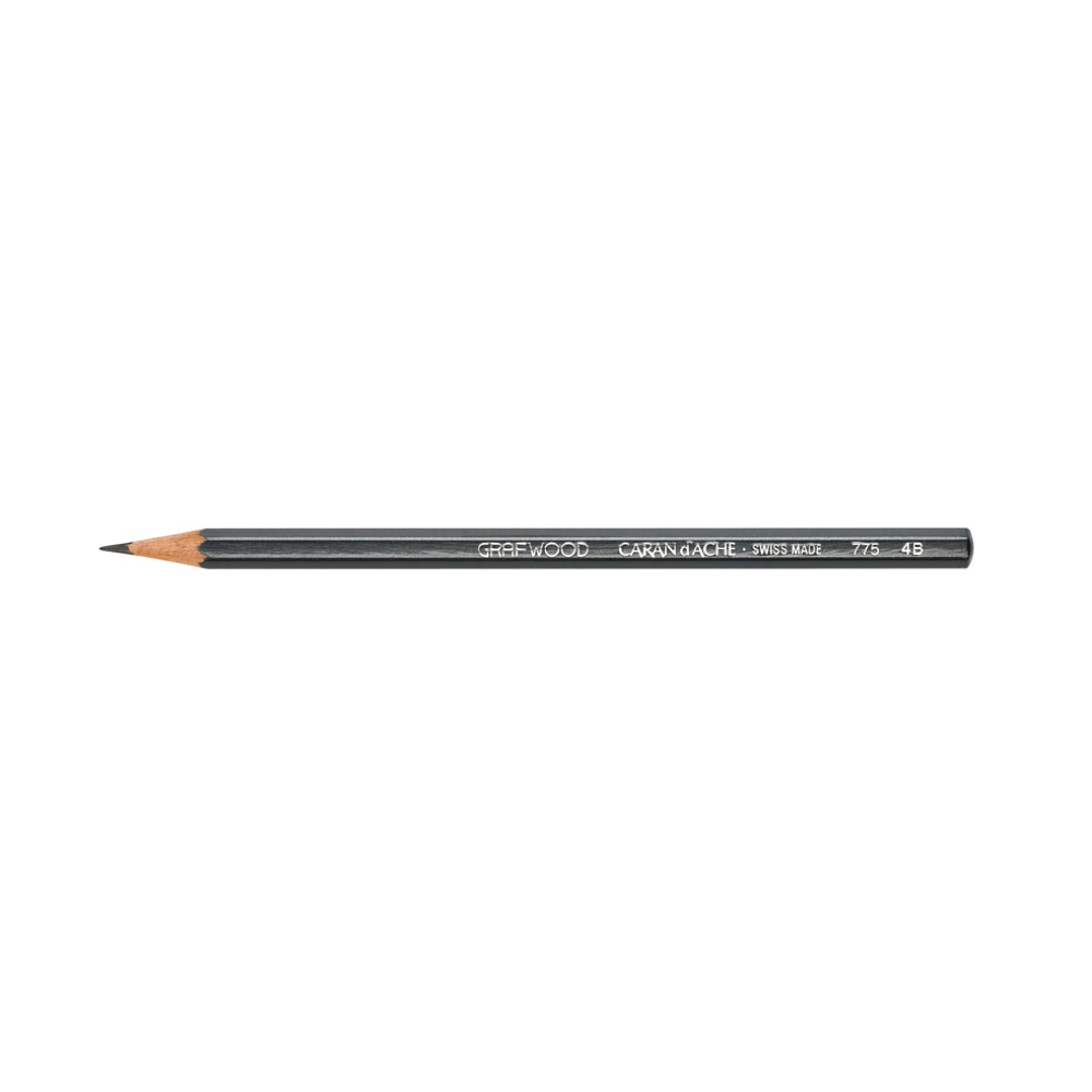 Caran D'ache Grafwood Pencil 4B