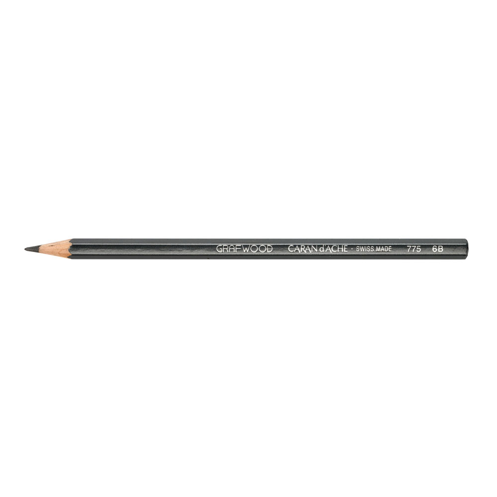 Caran D'ache Grafwood Pencil 6B