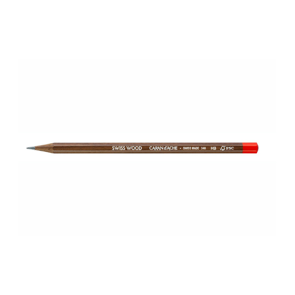 Caran D'ache Swiss Wood Pencil Hb