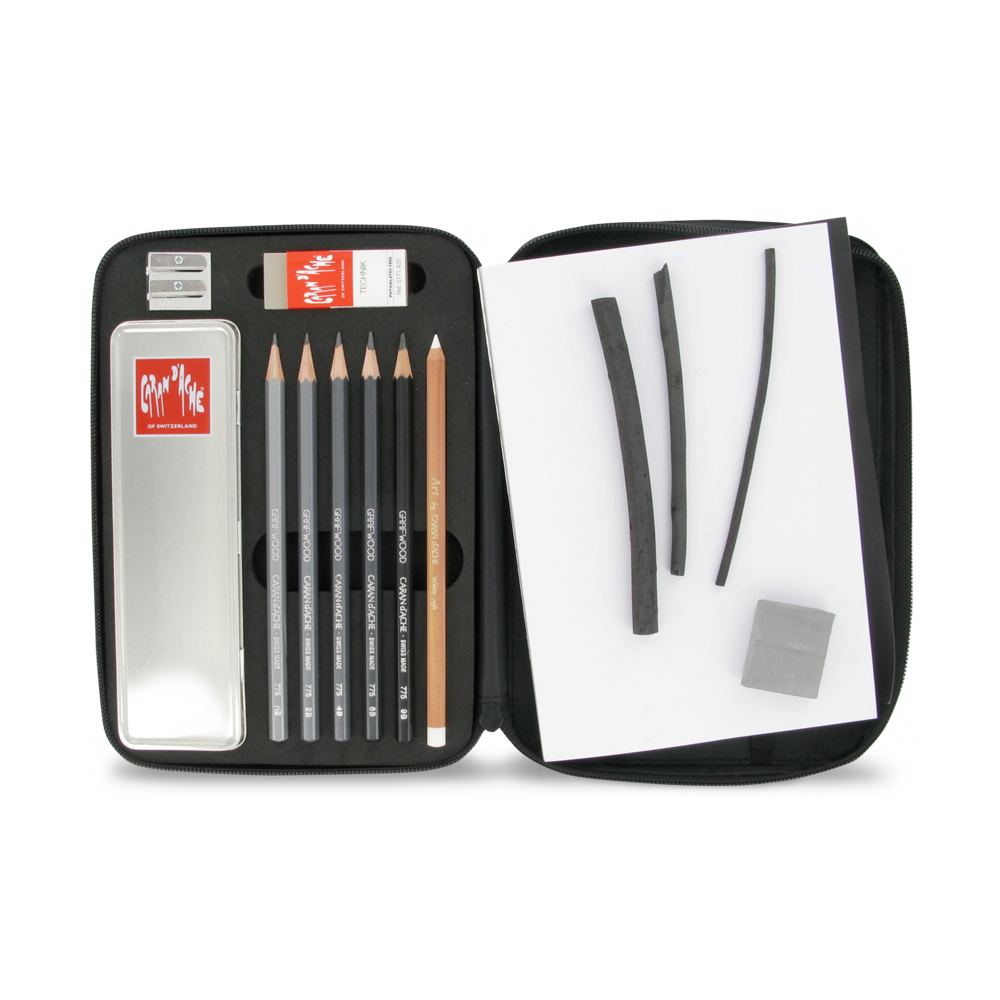 Caran D'ache Graphite Line Book Set