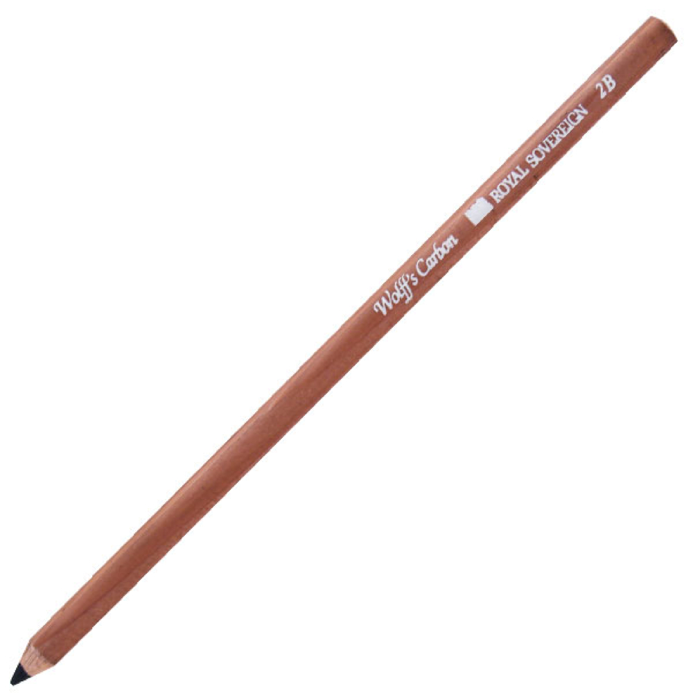 Wolff Carbon Pencil 2B