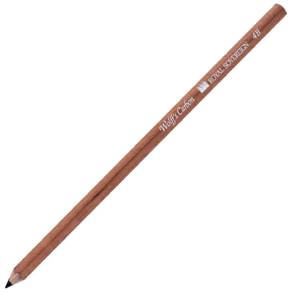 Wolff Carbon Pencil 4B