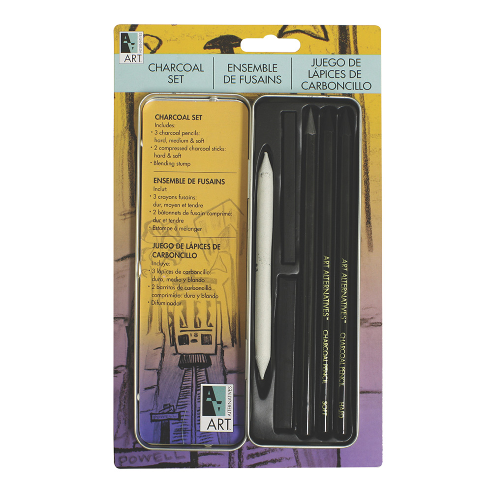 Aa Pocket Charcoal Set