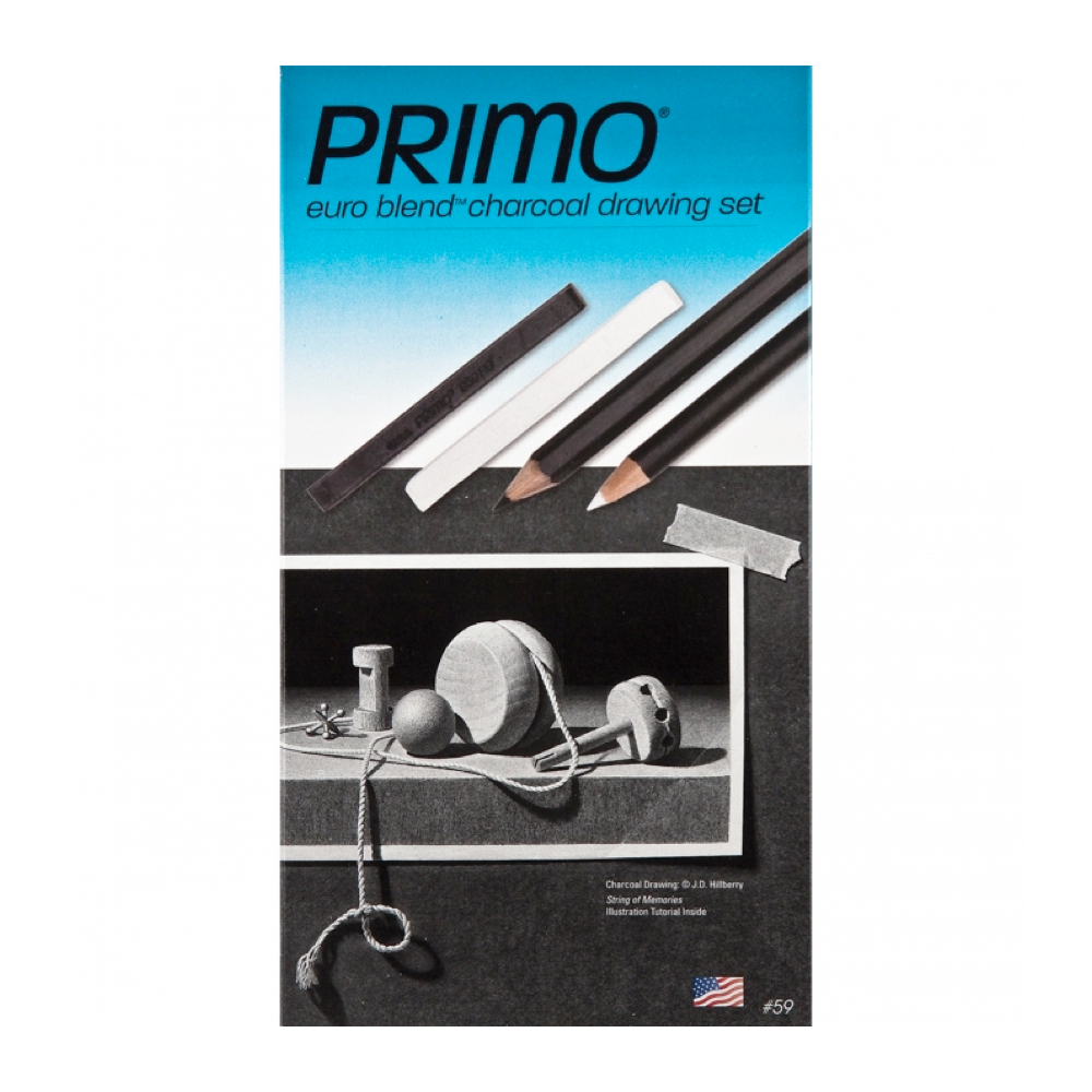General Primo Charcoal Drawing Set