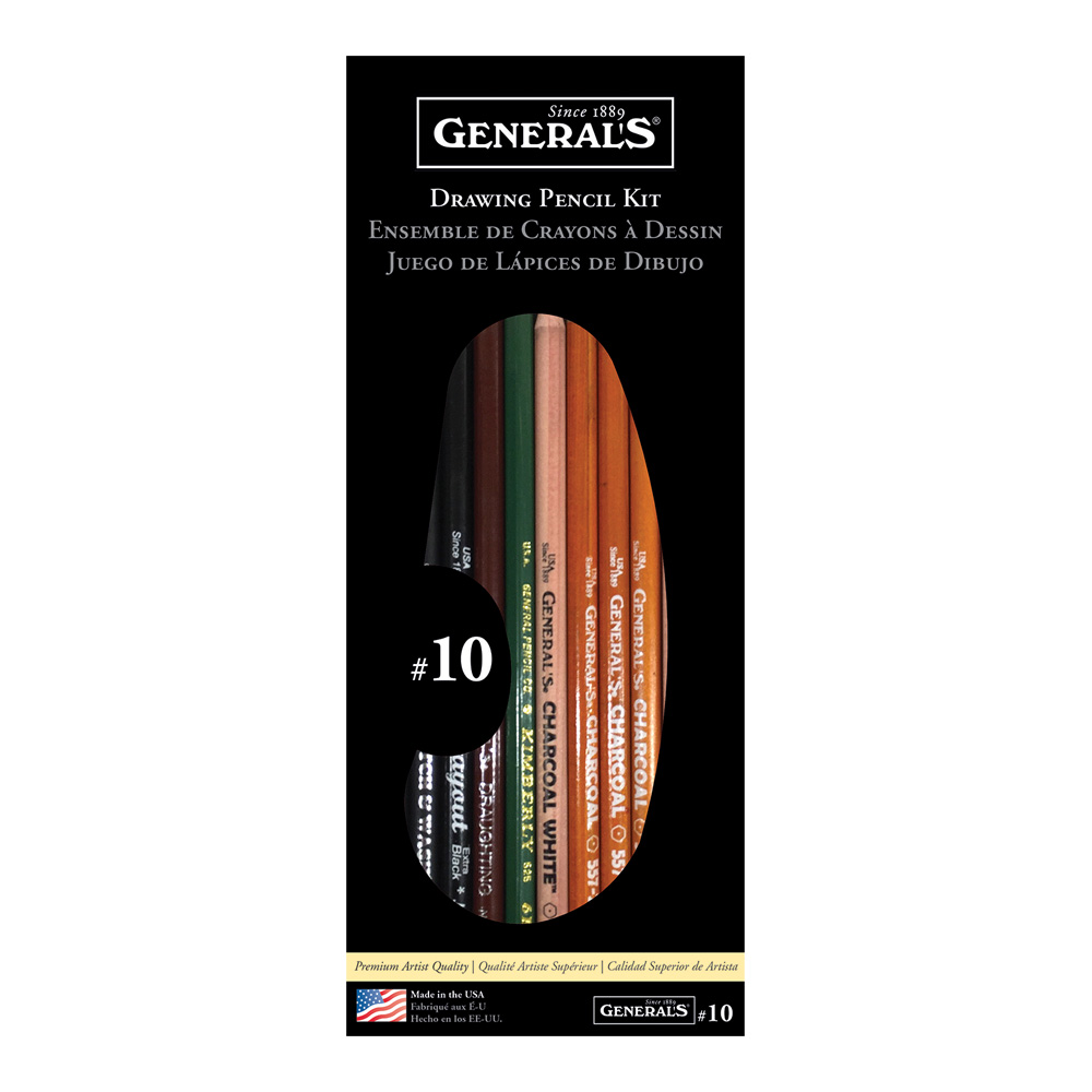 General No. 10 Pencil Set