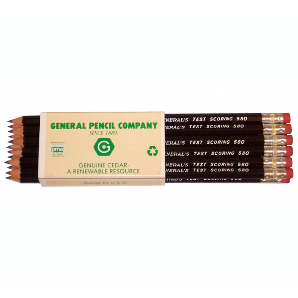 General Test Scoring Pencil Box/12