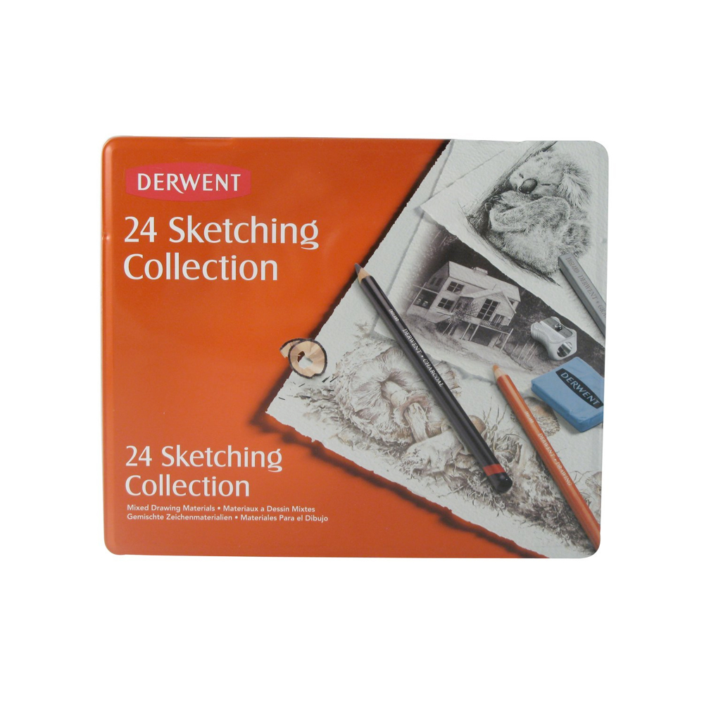 Derwent 24 Piece Sketching Collection Set