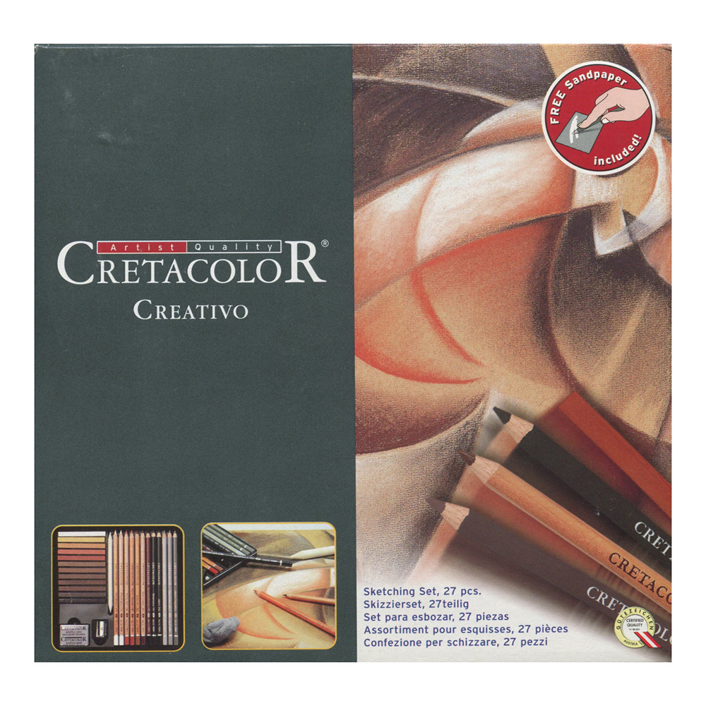 Cretacolor Creativo 27 Piece Drawing Set