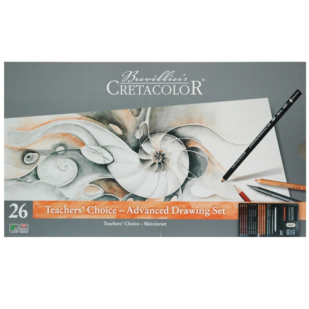 Cretacolor Teachers Choice Advanced Set Of 27
