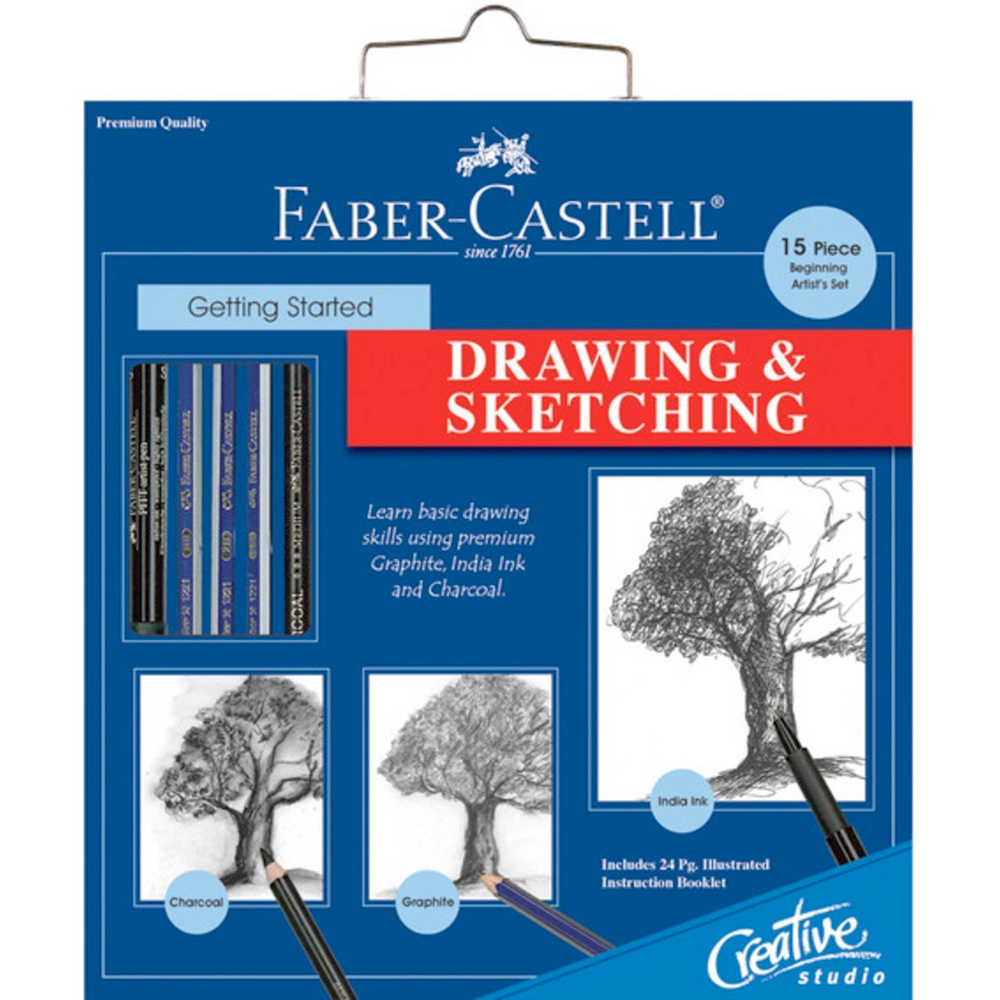 Creative Studio Drawing & Sketching Set
