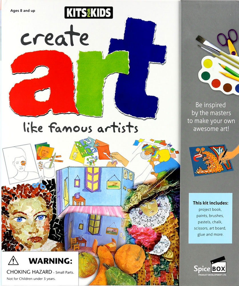 Kits For Kids: Create Art Like Famous Artists