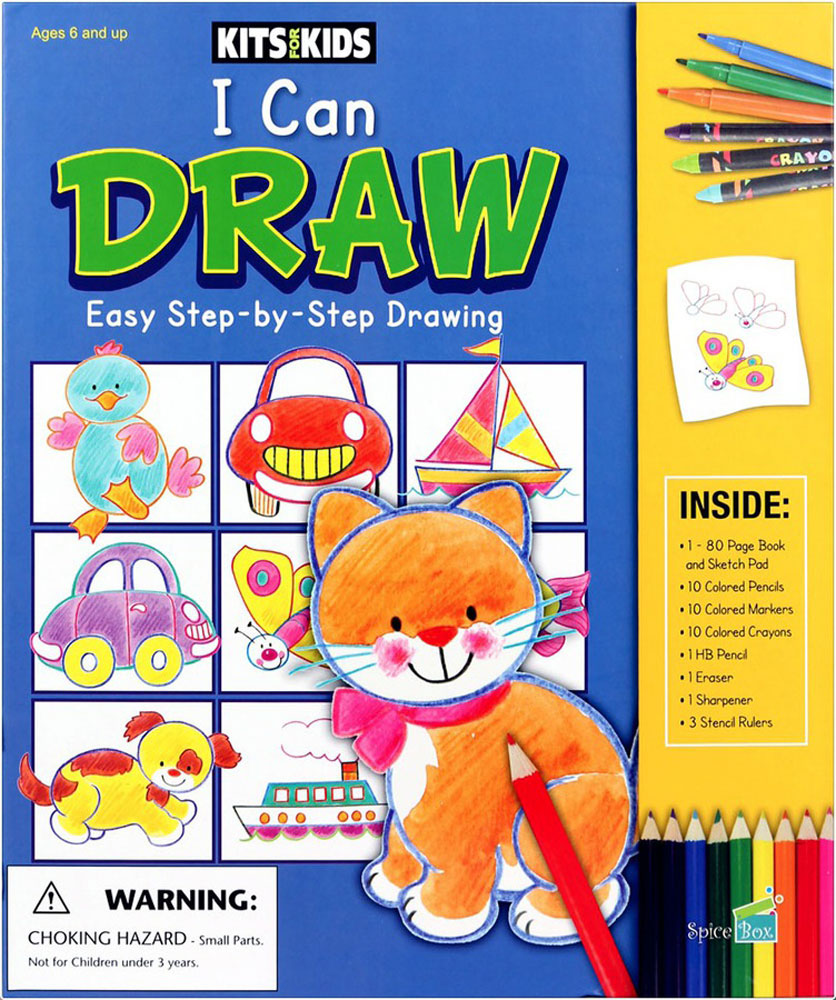 Kits For Kids: I Can Draw