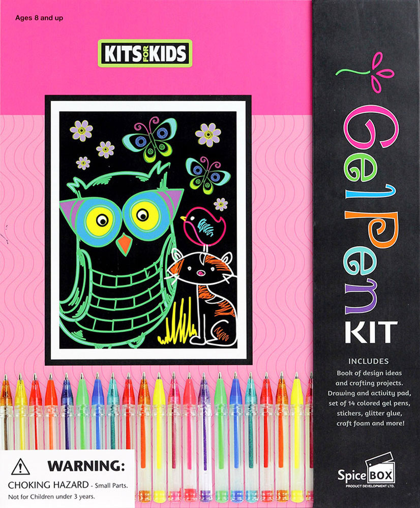 Kits For Kids: Gel Pen Projects