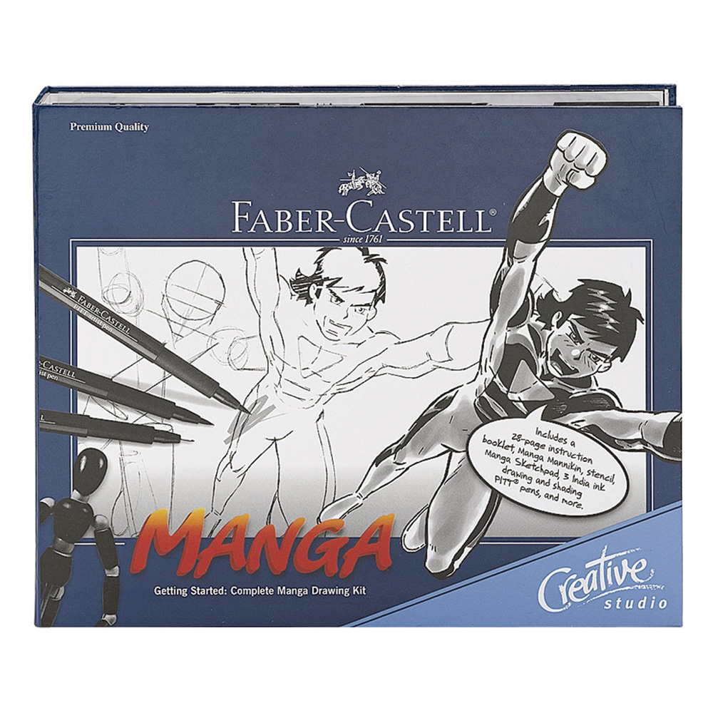 Faber-Castell Complete Manga Drawing Kit