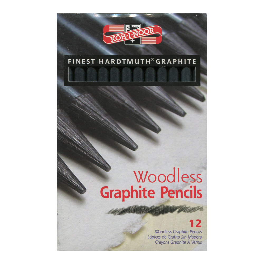 Koh-I-Noor Woodless 12 Graphite Set