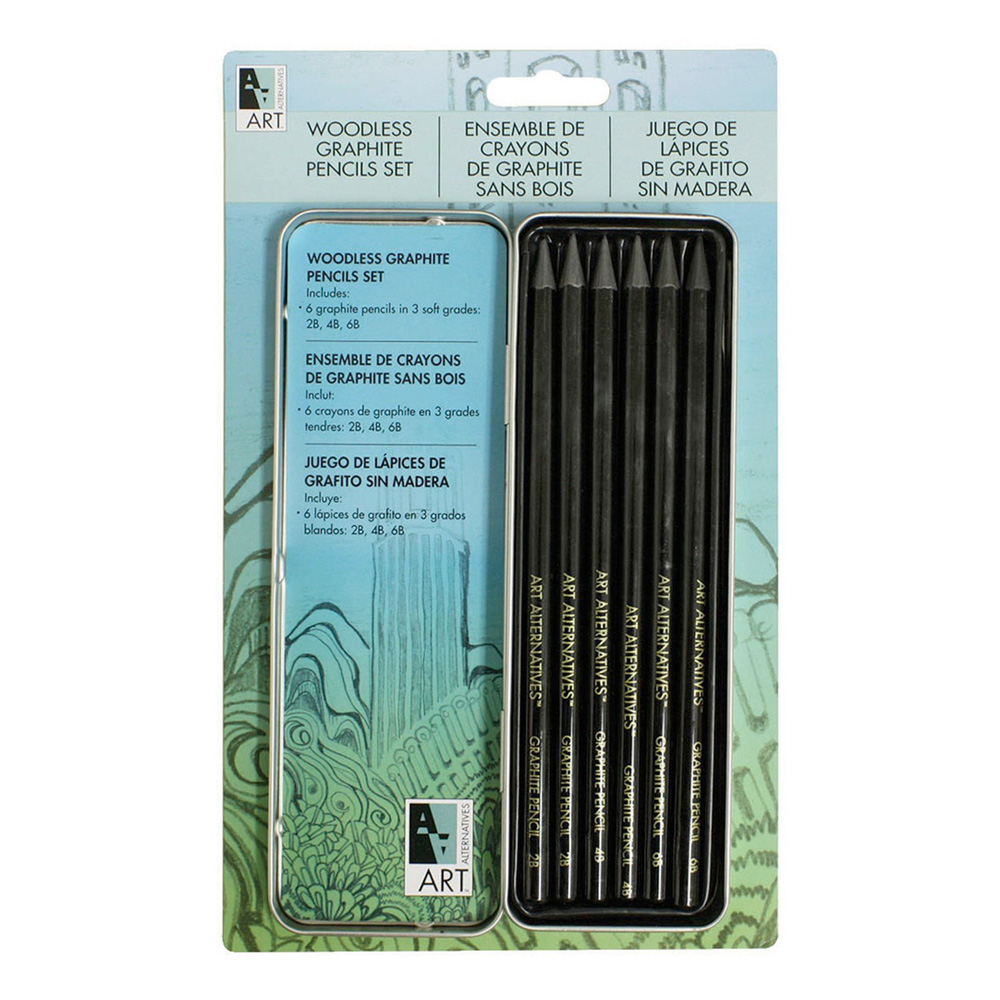 Aa Pocket Woodless Graphite Set
