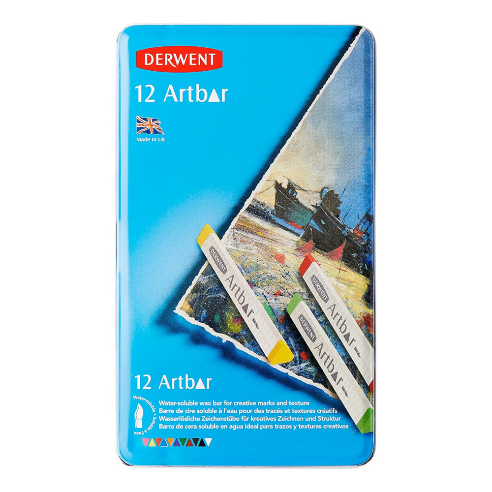 Derwent Artbar 12 Color Tin Set