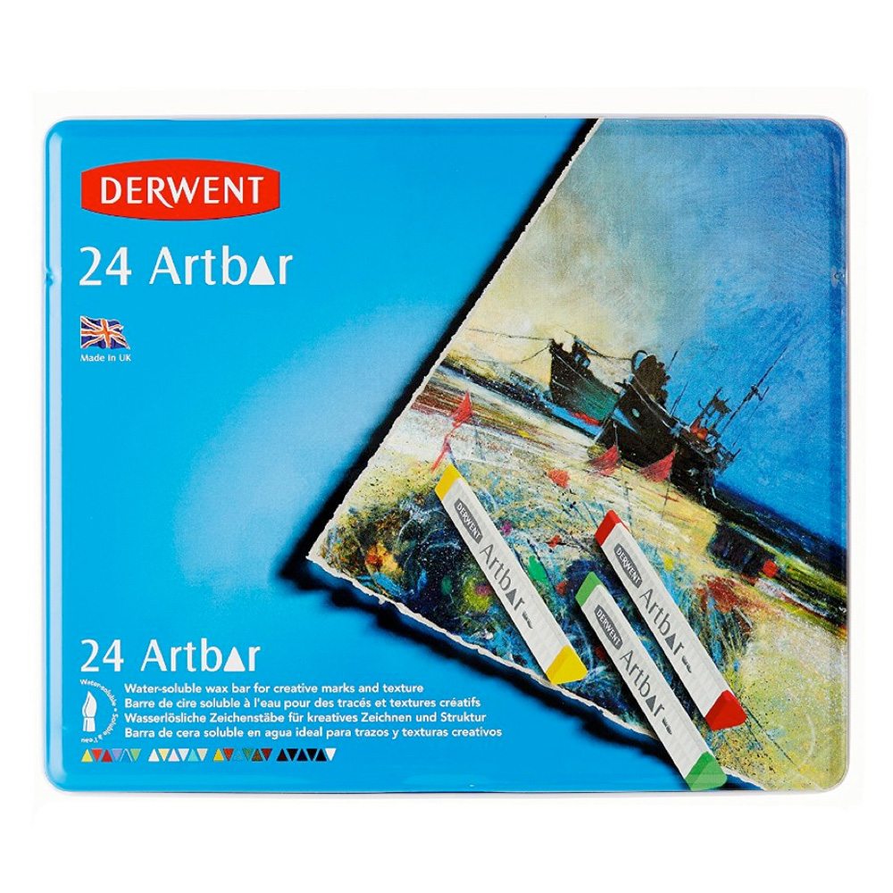 Derwent Artbar 24 Color Tin Set